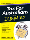 Tax for Australians For Dummies (eBook)